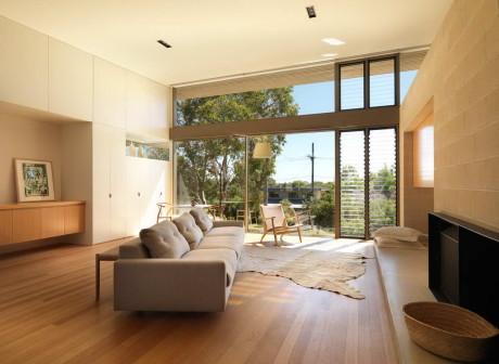 Дом в Пойнт Лонсдейл (A House at Point Lonsdale) в Австралии от Studio101 Architects.