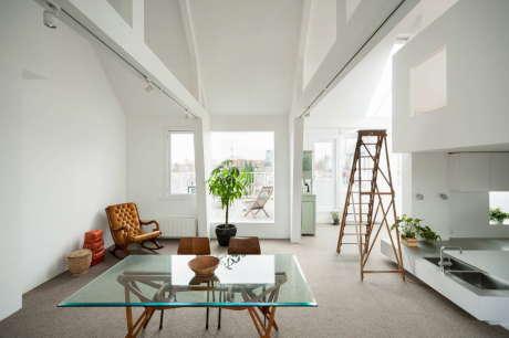 Апартамент в Амстердаме (Apartment in Amsterdam) в Голландии от MAMM Design.