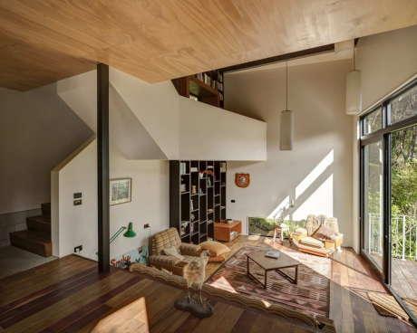 Дом Блэкпул (Blackpool House) в Новой Зеландии от Glamuzina Paterson Architects.