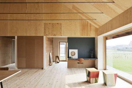 Кирпичный дом (Brick House) в Дании от LETH & GORI.