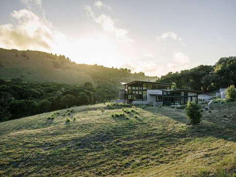 Дом «Бабочки» (Butterfly House) в США от Feldman Architecture.