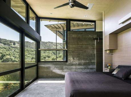 "Дом ""Бабочки"" (Butterfly House) в США от Feldman Architecture."
