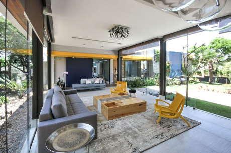 Дом ME (Casa ME) в Бразилии от Otta Albernaz Arquitetura.