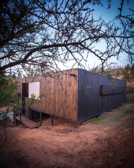 Деревянный дом в Чили