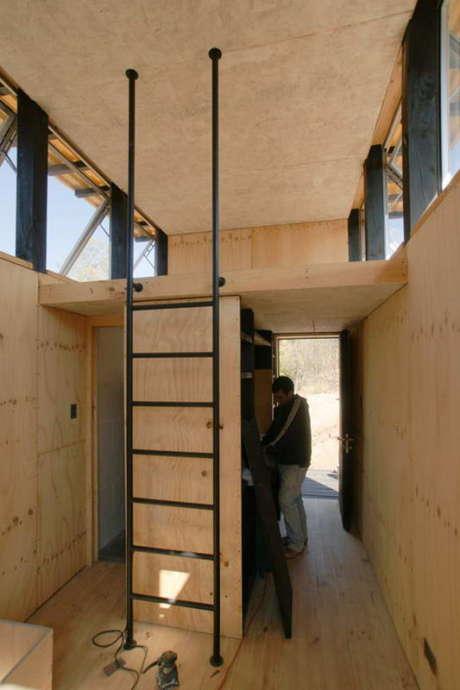 Угольный домик (Charred Cabin) в Чили от DRAA.