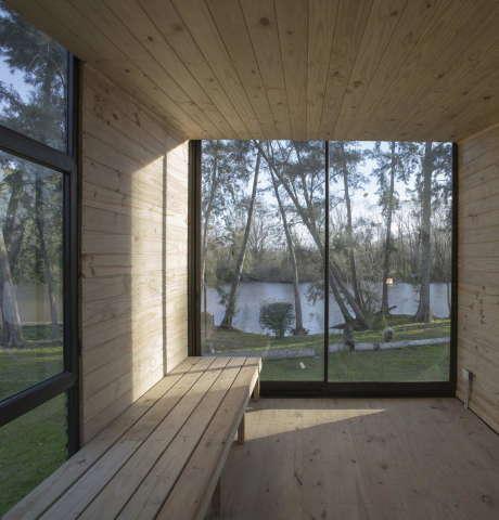 Домик Дельта (Delta Cabin) в Аргентине от Atot.