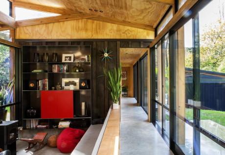 Дом Истербрук (Easterbrook House) в Новой Зеландия от Dorrington Atcheson Architects.