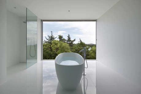 Дом с видом на лес (Forest View House) в Японии от Shinichi Ogawa & Associates.