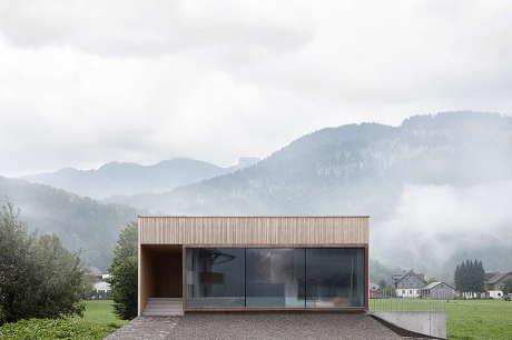 Минималистский дом в Австрии