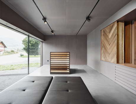 Дом с шоурумом (House with Showroom) в Австрии от ao-architekten.