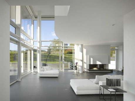 Дом в Люксембурге (Luxe Luxembourg House) в Люксембурге от Richard Meier.