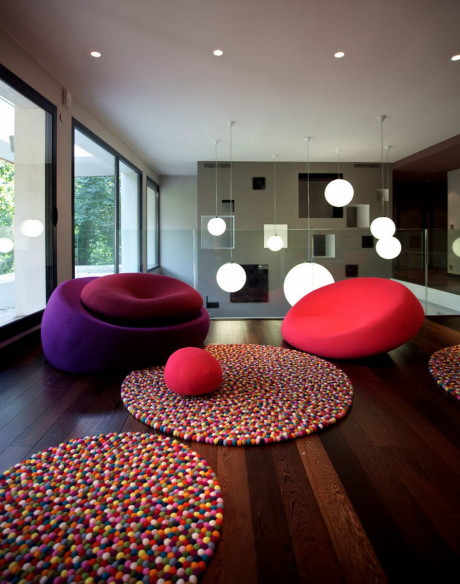 "Дом ""Париж 300 м2"" (Maison Paris 300 m2) во Франции от MYSPACEPLANNER."