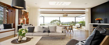 Дом Middle Harbour в Австралии от Richard Cole Architecture.