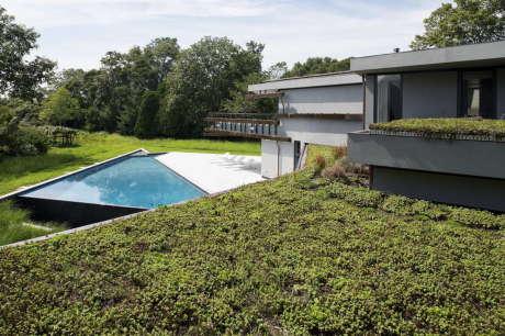 Сейрс Дом & Висячие сады (Sayres House and Hanging Gardens) в США от Maziar Behrooz Architecture.