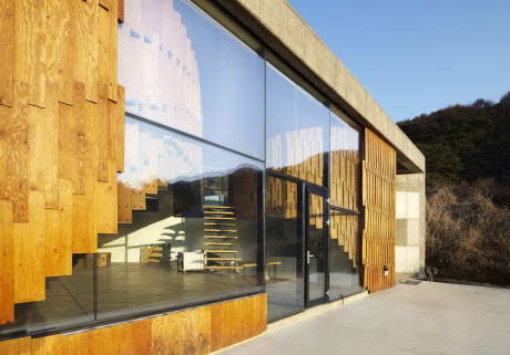 Дом для художника в Южной Корее