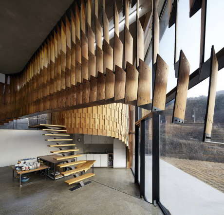 Дом Skinspace в Южной Корее от AND.