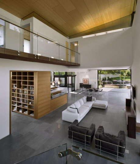 Дом Синклиналь (Syncline House) в США от Arch11.