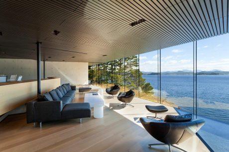 Дом Тула (Tula House) в Канаде от Patkau Architects.