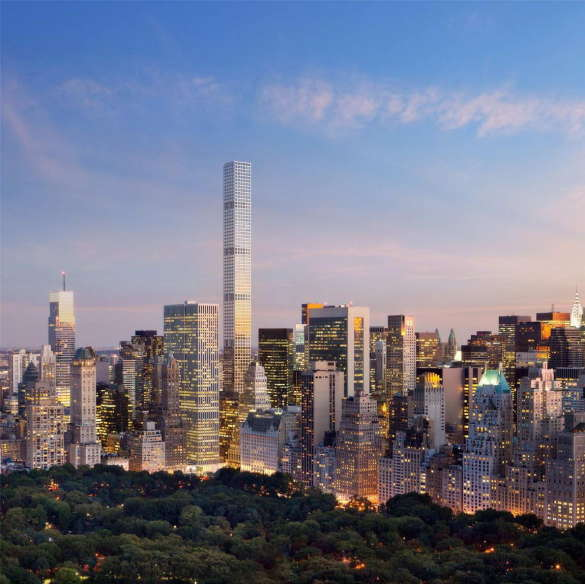 Проект пентхауса в Нью-Йорке
