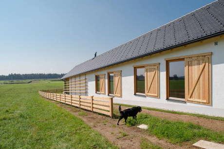 Наклонный дом в Словении