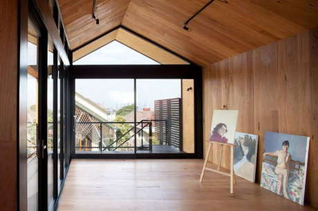 Студия художника (Artist Studio) в Австралии от Chan Architecture.