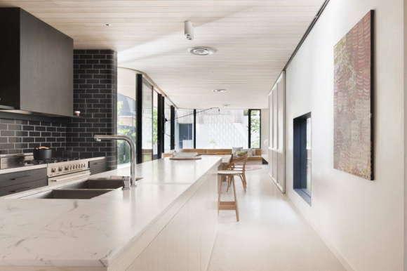 Кирпичный Дом (Brick House) в Австралии от Clare Cousins Architects.