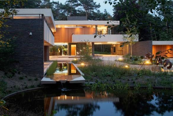 Вилла Дюна (Dune Villa) в Голландии от HILBERINKBOSCH Architects.