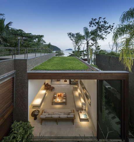 4 дома у океана в Бразилии