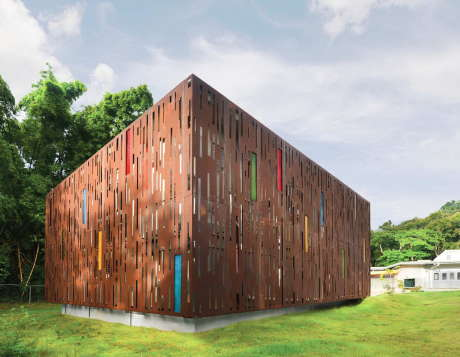 Проект GELM Annex в Пуэрто-Рико от Diaz Paunetto Arquitectos.