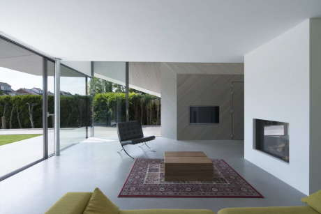 Дом W (House W) в Голландии от Studio Prototype.