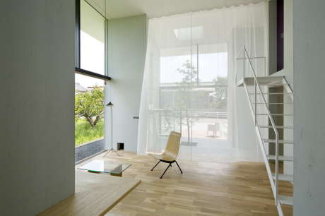 Дом в Оно (House in Ohno) в Японии от Airhouse Design Office.
