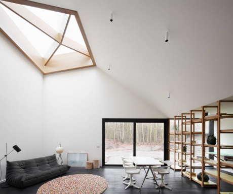 Дом для Патрика (Huis voor Patrick) в Бельгии от LOW Architecten.