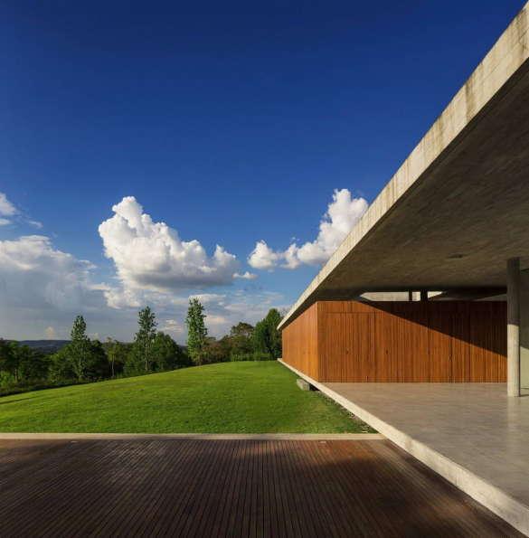 Дом Редукс (Redux House) в Бразилии от Studio mk27.