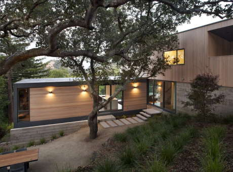 Дом Сан Ансельмо (San Anselmo House) в США от Shands Studio.