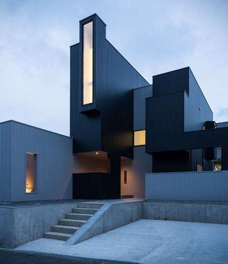 Скульптурный дом в Японии