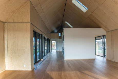 Дом, свободный от технического обслуживания (The Maintenance-Free House) в Дании от Arkitema Architects.