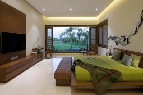 Городской дом (The Urbane House) в Индии от Hiren Patel Architects.