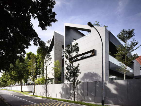 Городской дом в Сингапуре