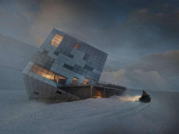 Cuboidal Mountain Hut 4