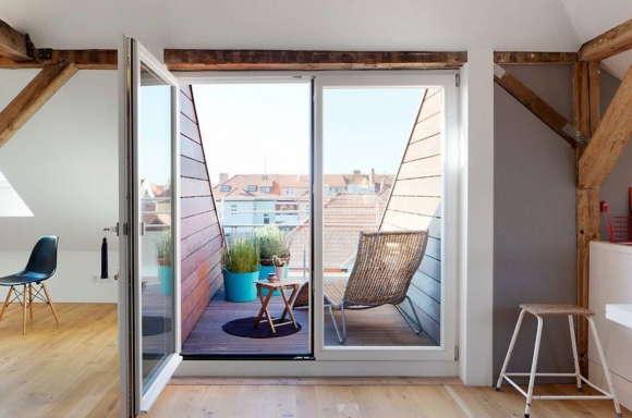 Дизайн квартиры в Веймаре (Design Apartments Weimar) в Германии от Mark Pohl.
