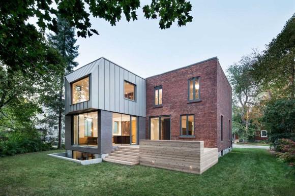 Расширение дома в Канаде