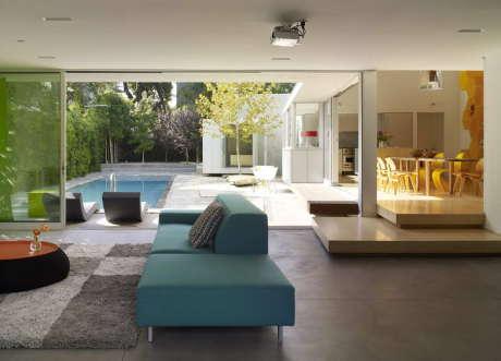 Резиденция Норвич (Norwich Residence) в США от Clive Wilkinson Architects.
