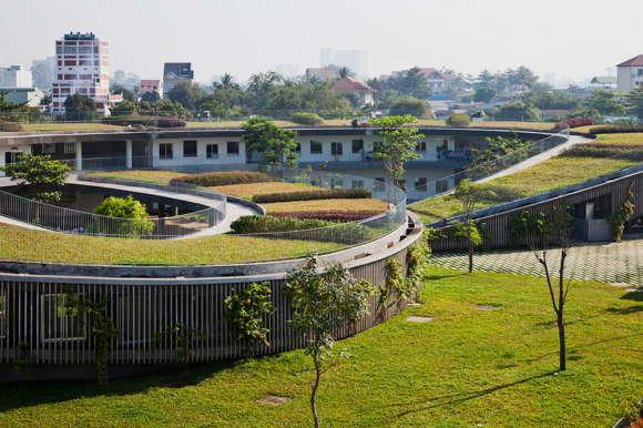 Зелёный детский сад во Вьетнаме