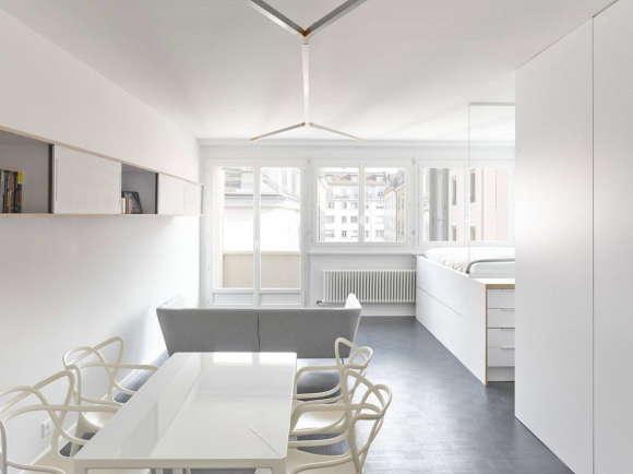 Реконструкция квартиры в Женеве