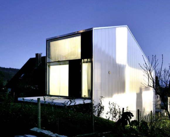 Узкий дом в Германии