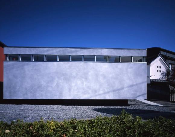 Дом с внутренним двором в Японии