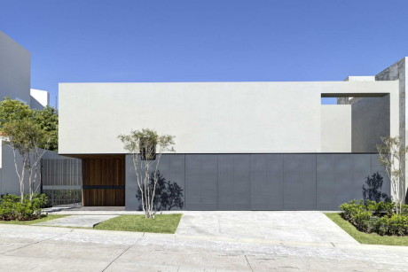 Дом ОВал (OVal House) в Мексике от Elias Rizo Arquitectos.
