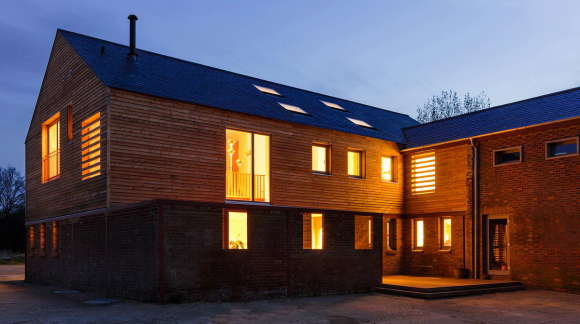 Timber Frame House 4