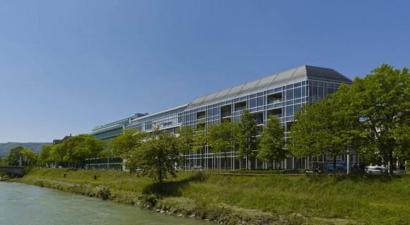 Деревянный многоэтажный офис в Швейцарии