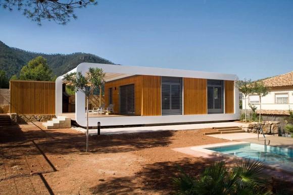 Сборный дом (Prefab Home) в Испании от NOEM.